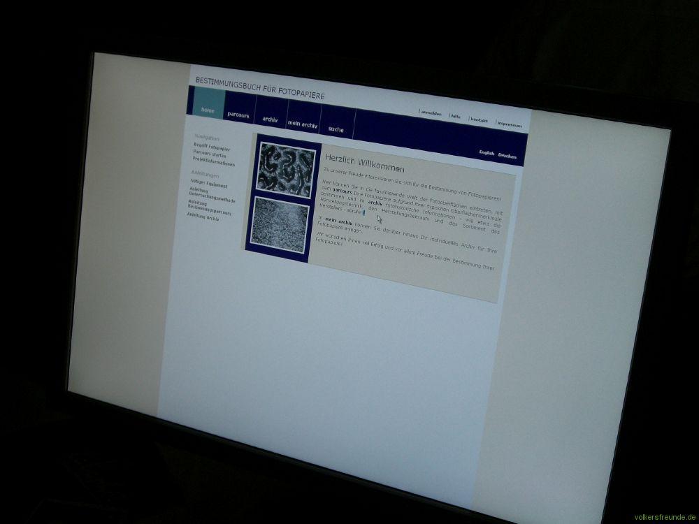 Bestimmung von Fotopapieren